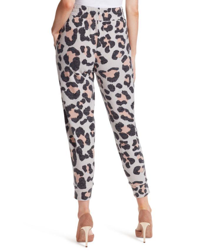 Jessica Simpson Ryland Cheetah Jogger Pants & Reviews - Pants & Leggings - Women - Macy's