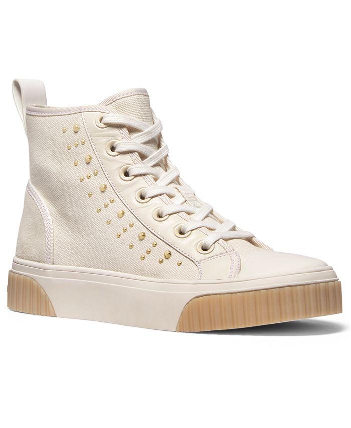 Michael Kors - Gertie Studded High-Top Sneakers