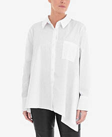 Live Unlimited Plus Size Asymmetric Shirt