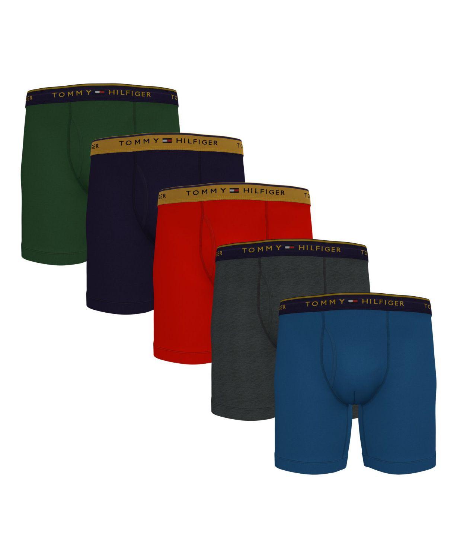 Tommy Hilfiger Men's 5-Pk. Cotton Classics Boxer Briefs & Reviews - Underwear & Socks - Men - Macy's