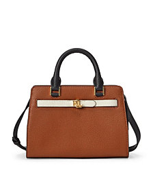 Lauren Ralph Lauren Leather Fenwick Crossbody Bag