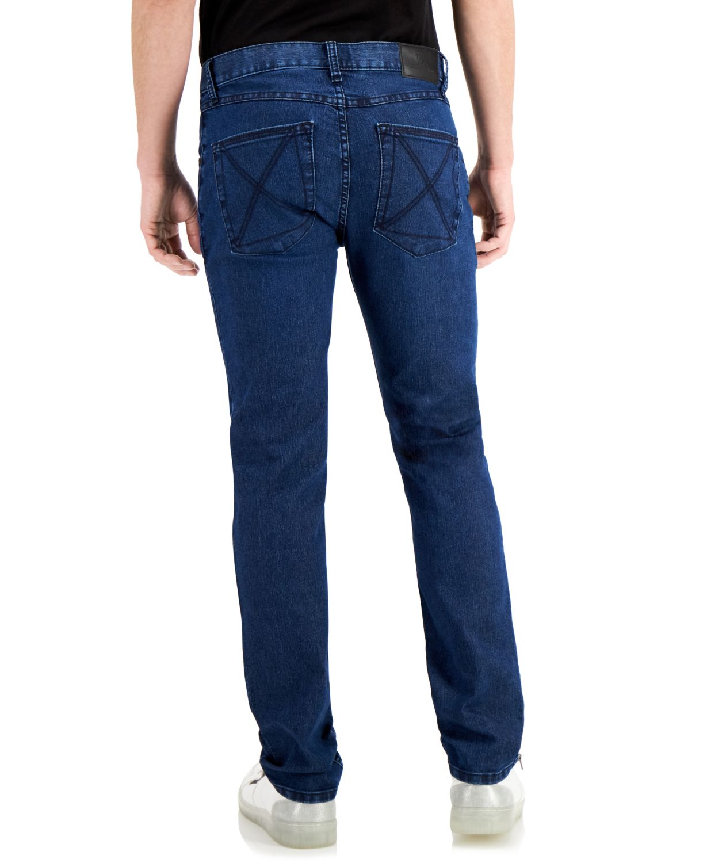 INC International Concepts INC Men's Onyx Slim-Fit Dark-Wash Jeans, Created for Macy's & Reviews - Jeans - Men - Macy's