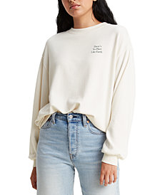 Levi's® Women's Graphic Print Sweatshirt