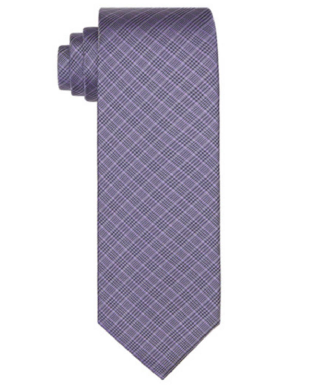 Calvin Klein Men's Troupe Plaid Tie  & Reviews - Ties & Pocket Squares - Men - Macy's
