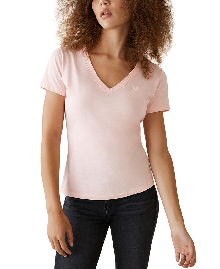 True Religion - Cotton Logo-Print T-Shirt