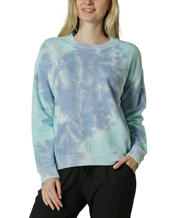 Ultra Flirt - Juniors' Tie-Dyed Sweatshirt