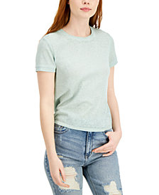 Planet Gold Juniors' Thermal Burnout Top