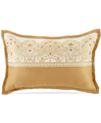 "CLOSEOUT! Waterford Sutton Square 12"" x 18"" Decorative Pillow"