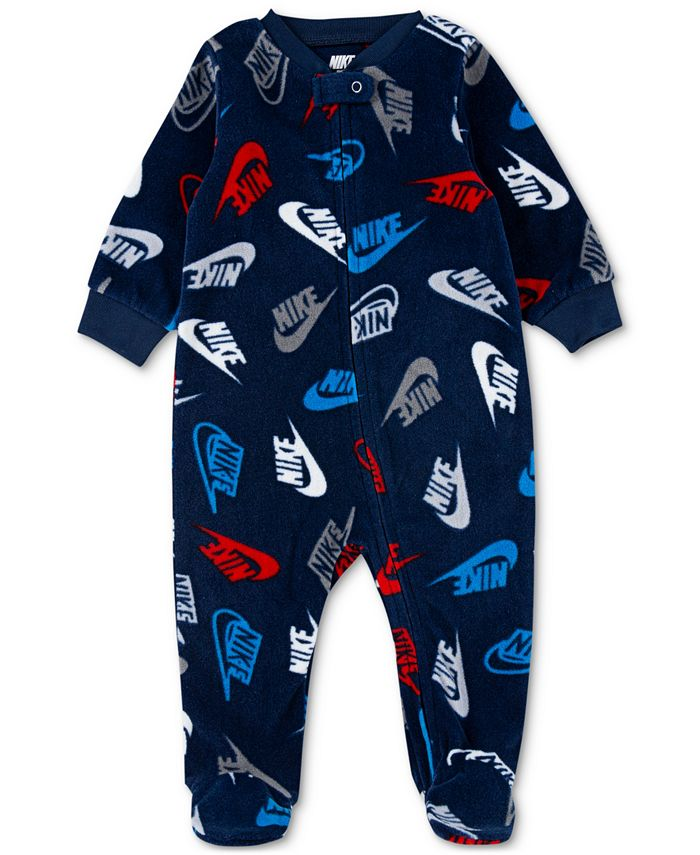 Nike - Baby Boys Microfleece Printed Coverall