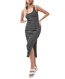 French Connection Tommy Ribbed Bodycon Maxi Tank Dress