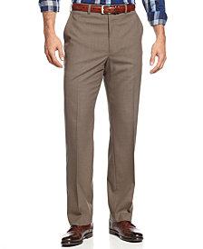 Michael Kors Men's Big and Tall Solid Classic-Fit Stretch Dress Pants
