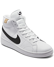 Nike Men's Court Royale 2 Mid High Top Casual Sneakers from Finish Line