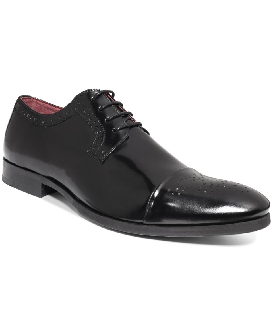 Kenneth Cole Dot Matrix Dress Lace Up Oxfords   Shoes   Men