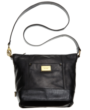 Tignanello Modern Classic Leather Bucket Bag