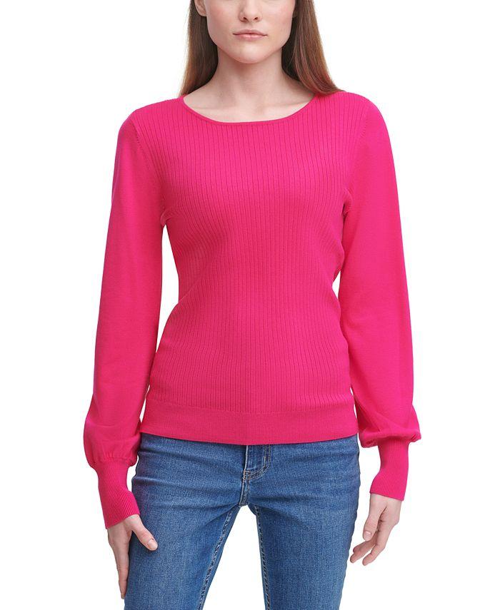 Calvin Klein - Balloon-Sleeve Sweater