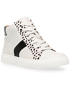 DV Dolce Vita Alvira Lace-Up High-Top Sneakers