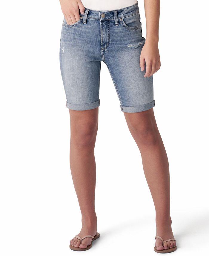 Silver Jeans Co. - Avery Denim Bermuda Shorts