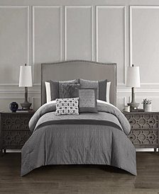 Chic Home Imani Bed in a Bag 10 Piece Comforter Set, Queen
