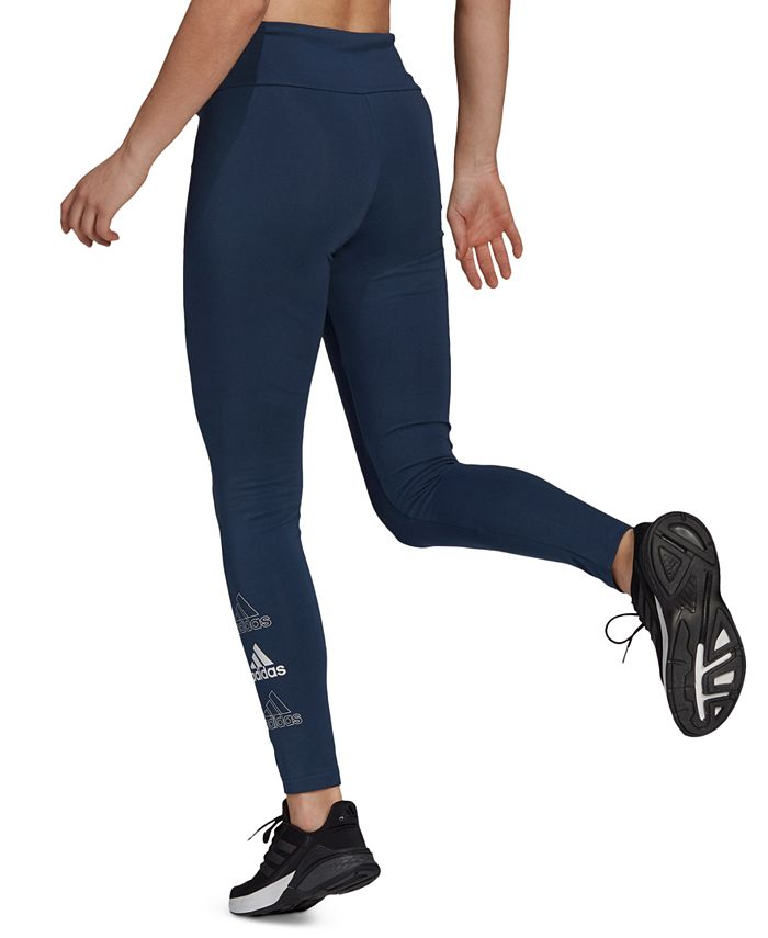 adidas - Essentials Stacked Logo High-Rise Leggings