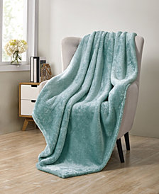 VCNY Home Avery Pure Plush Throw Blanket