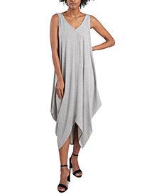 MSK Handkerchief-Hem Maxi Dress