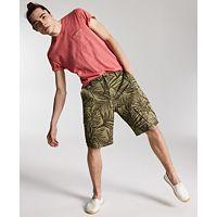 Sun + Stone Men's Ainsley Regular-Fit Stretch Palm-Print 8