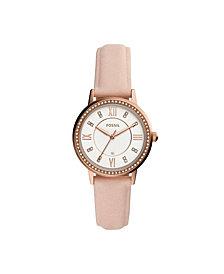 Fossil Women's Gwen Nude Leather Strap Watch 34mm