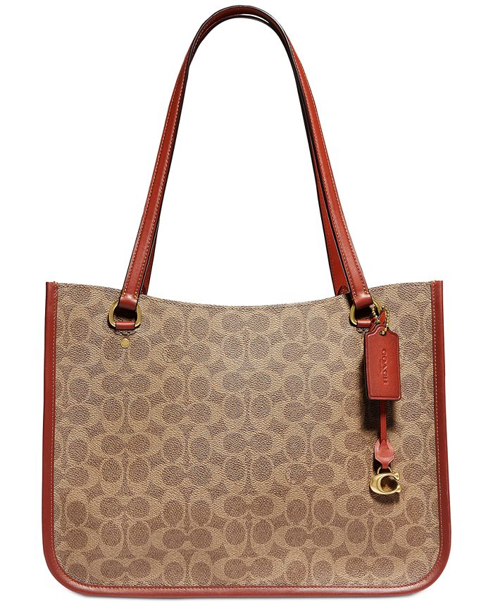 COACH - Tyler Carryall In Signature Canvas
