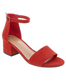 SUGAR Women's Noelle Block Heel Sandals