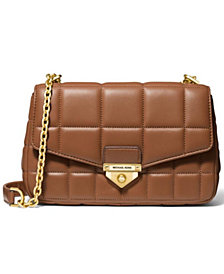 Michael Michael Kors Soho Quilted Leather Shoulder Bag