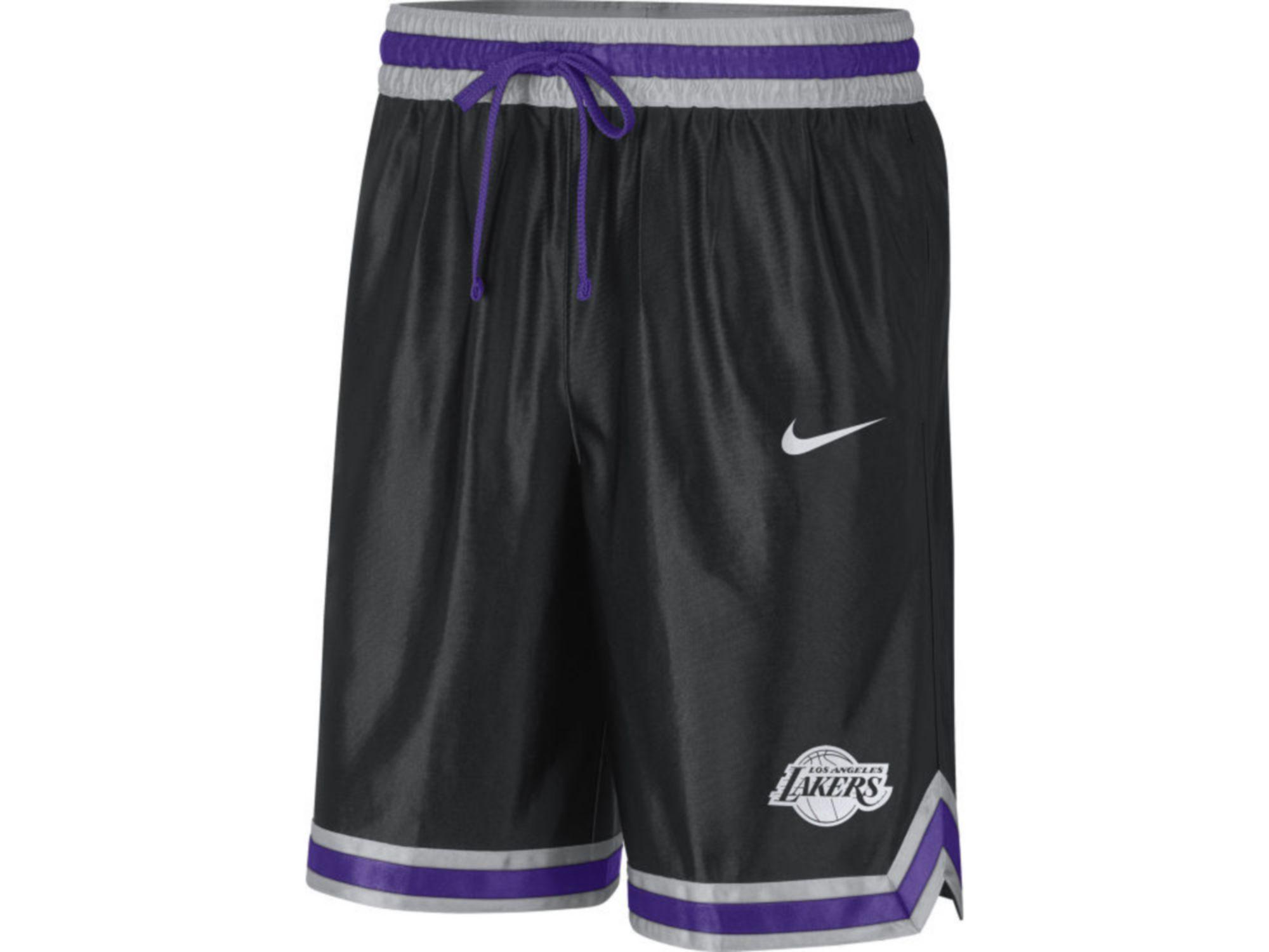 Nike Men's Los Angeles Lakers Chrome Courtside Shorts & Reviews - NBA - Sports Fan Shop - Macy's