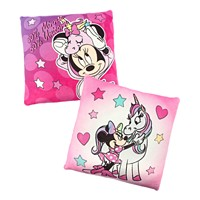 2Pk Disney Minnie Mouse Squishy 12-in Square Decorative Pillows Deals
