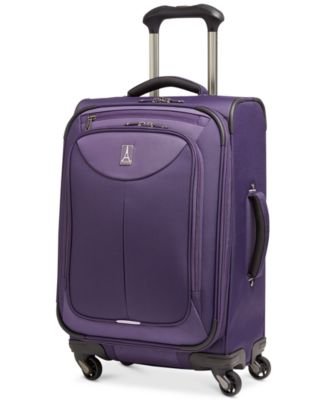 "CLOSEOUT! 60% Off Travelpro WalkAbout 2 21"" Expandable Spinner Carry On Suitcase, Only at Macy's"