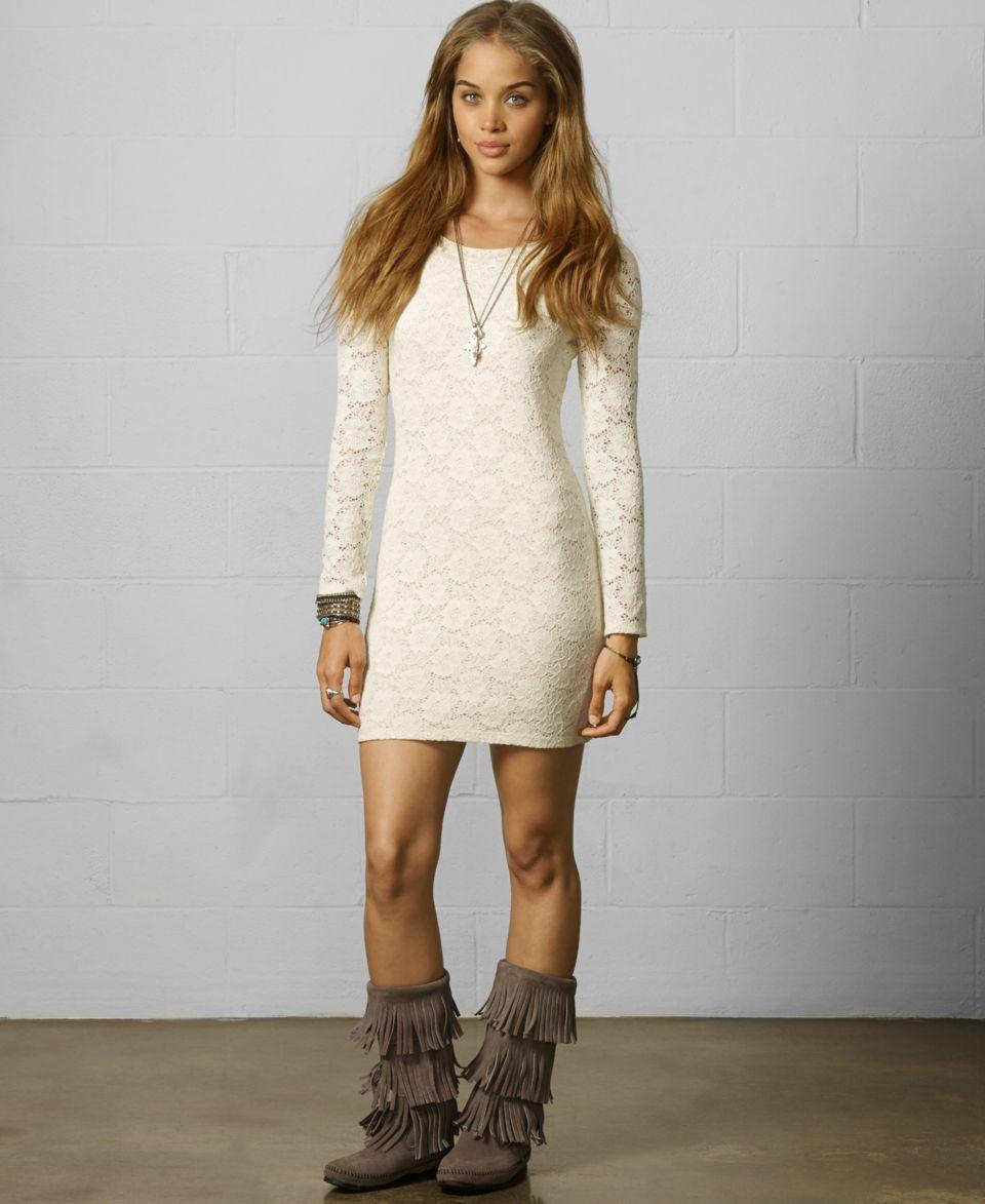 Denim & Supply Ralph Lauren Long Sleeve Lace Dress   Dresses   Women