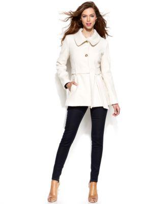 Jessica Simpson WoolBlend ALine Jacket