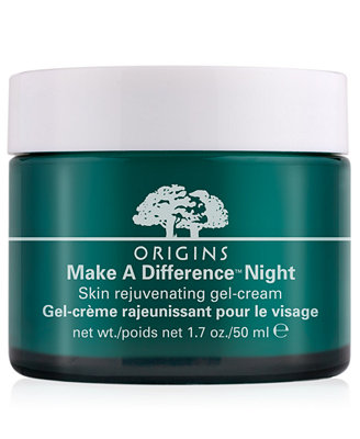 Origins Make a Difference Night Skin Rejuvenating Gel-Cream, 1.7 oz