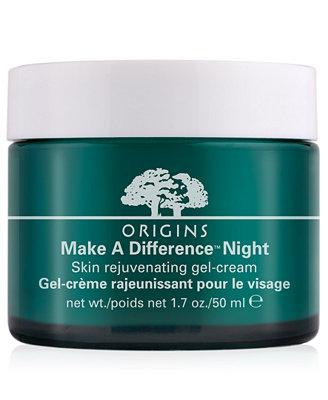 Origins Make a Difference Night Skin Rejuvenating Gel-Cream, 1.7 oz