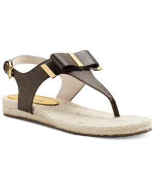 MICHAEL Michael Kors Meg Thong Sandals Womens Shoes