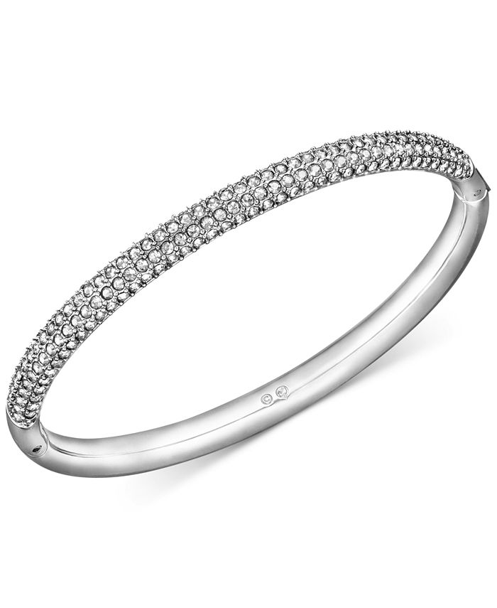 Swarovski - Stainless Steel Crystal Bangle Bracelet