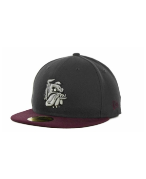 New Era Minnesota Duluth Bulldogs Ncaa 2 Tone Graphite and Team Color 59FIFTY Cap