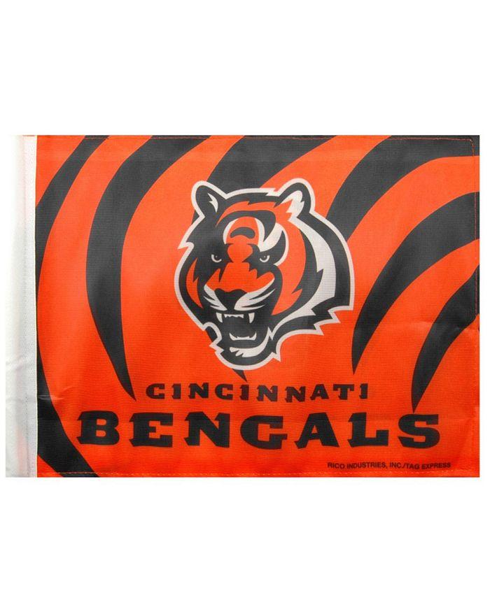 Rico Industries - Cincinnati Bengals Car Flag