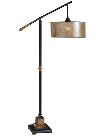 Uttermost sitka floor lamp lighting lamps for the for Macy s torchiere floor lamp