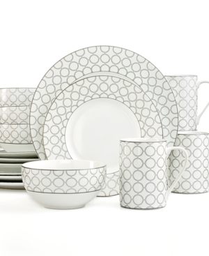 222 Fifth Chain Link Silver 16-Piece Set $ 109.99