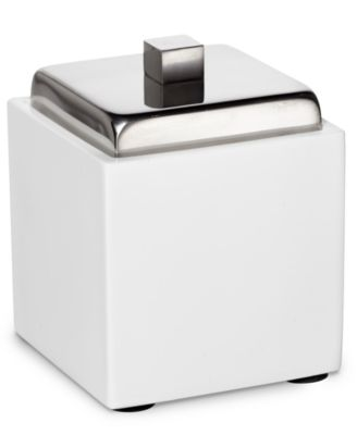 Roselli Trading Company Polished Stainless Steel Suite Room Canister