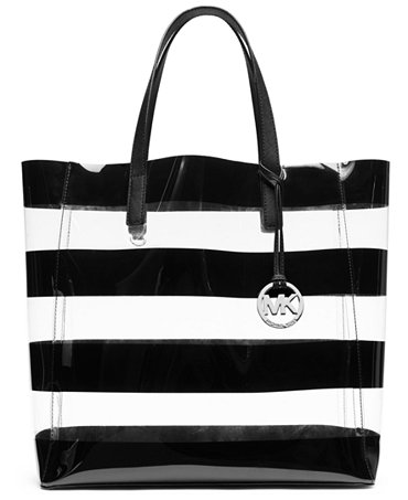 MICHAEL Michael Kors Eliza Clear Large Tote - Handbags ...