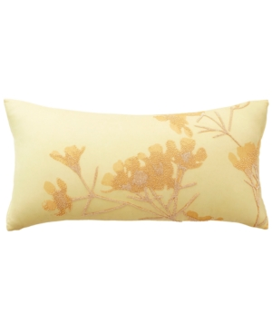 donna karan home atmosphere gold 11 x 22 decorative pillow b