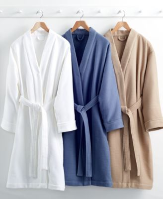 CLOSEOUT! Hotel Collection Waffle Bath Robe