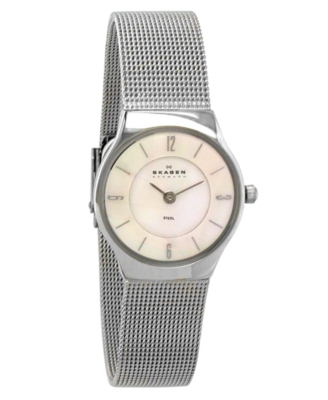 Skagen Watch, Women's Stainless Steel Bracelet 233XSSS