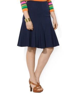 Lauren Ralph Lauren Plus Size A-Line Skirt, Macy's, $57.99