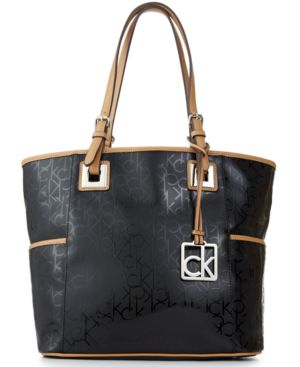 Calvin Klein Mother's Day Textured Embossed Tote